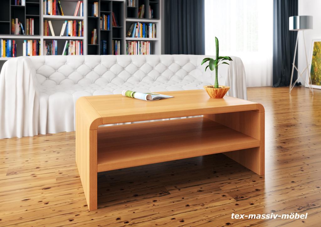 zeitloser couchtisch simon kernbuche massiv ge lt 107 x. Black Bedroom Furniture Sets. Home Design Ideas