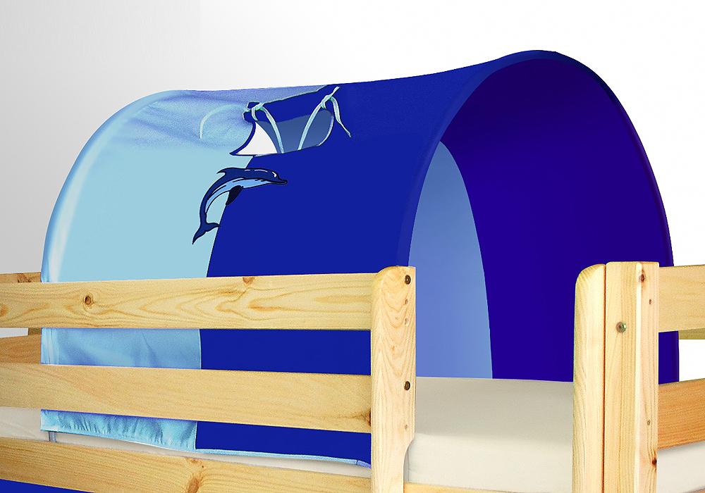 tunnel klein delphin f r hochbett spielbett etagenbett. Black Bedroom Furniture Sets. Home Design Ideas