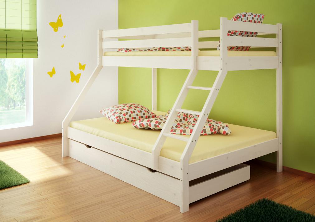 Zwei Etagenbett : Das perfekte ansehen hochbett mit zwei betten süß