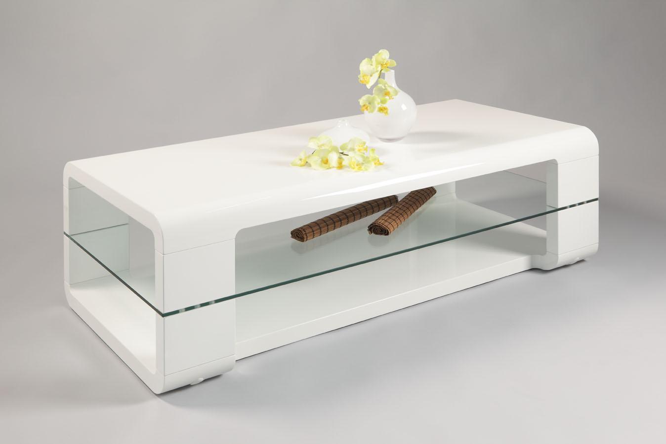 Couchtisch wohnzimmertisch andrea 60x60 cm hochglanz weiss for Couchtisch 40x40