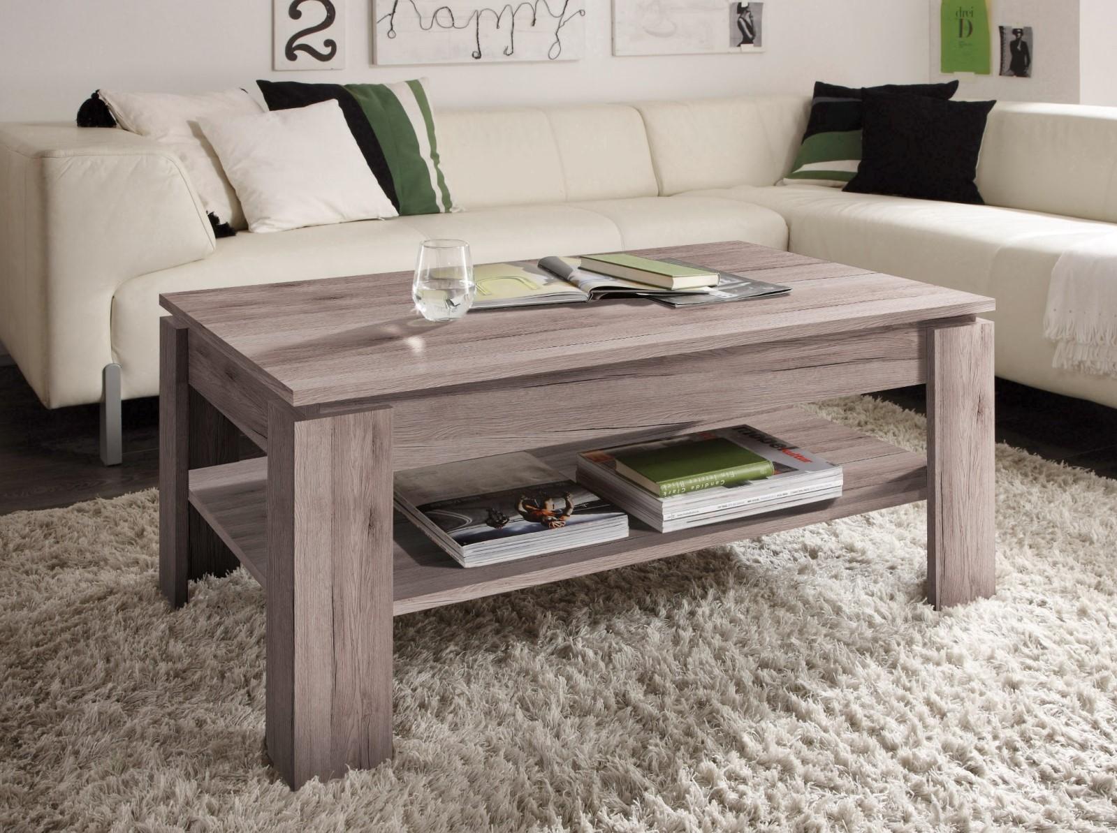 Couchtisch tisch este 90x60 cm weiss betonoptik ebay for Wohnzimmertisch 90x60