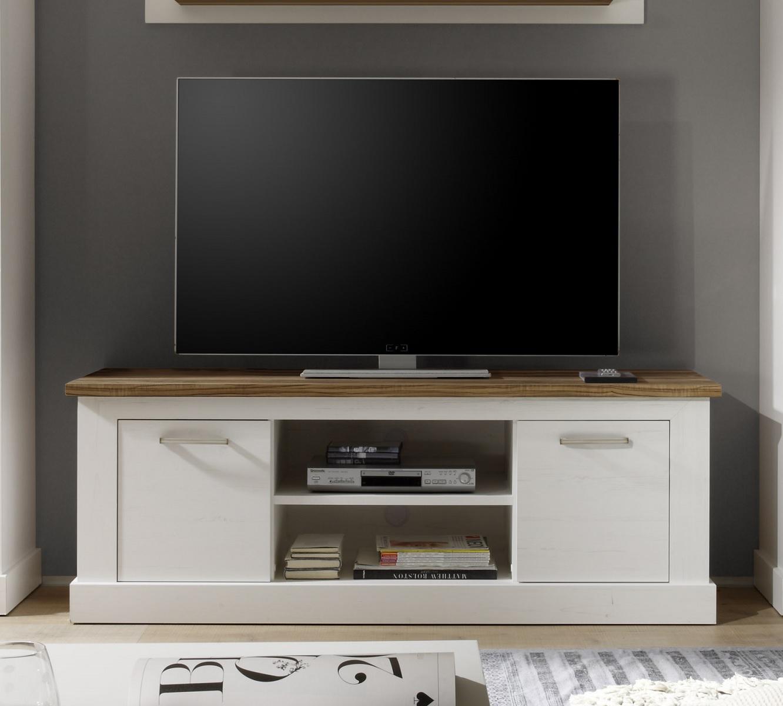 vitrine hochschrank naturell in pinie weiss nussbaum. Black Bedroom Furniture Sets. Home Design Ideas